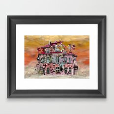 playhouse Framed Art Print