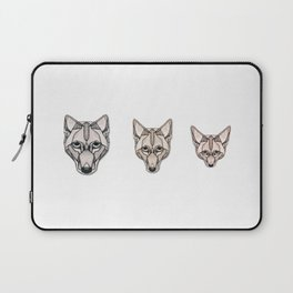 Edges (Canids) Laptop Sleeve