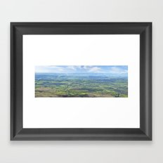 View from the Knockmealdown Mountains, Ireland Framed Art Print