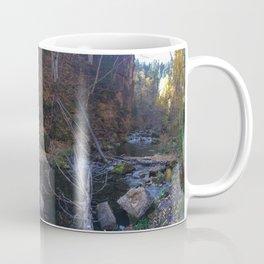 spearfish canyon pano Coffee Mug