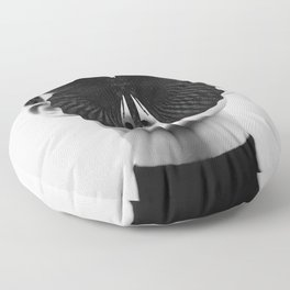 BLACK BUTTERFLY Floor Pillow