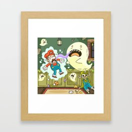 Super Mario Party Framed Art Print