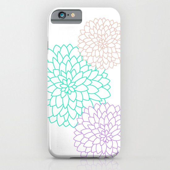 DAHLIAS iPhone & iPod Case