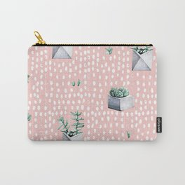 Cactus Pattern 04 Carry-All Pouch
