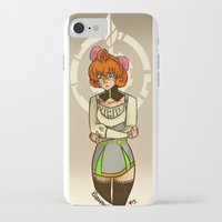rwby iPhone & iPod Cases featuring Penny Polendina from RWBY with Atlas Symbol. by Roanam