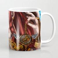 clockwork Mugs featuring Clockwork by KPStudios
