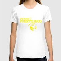 puerto rico T-shirts featuring We Bomb Puerto Rico by Grime Lab