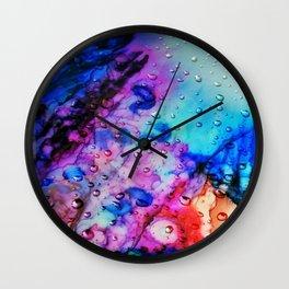 raindrops in the ray Wall Clock