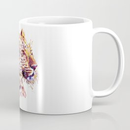 Leopard Head Coffee Mug
