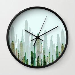 horizont cactus Wall Clock
