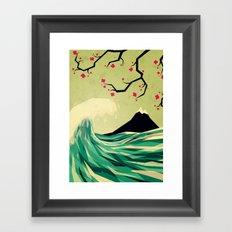 falling in love Framed Art Print