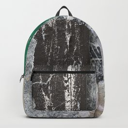 Berlin Posters-Green and Grey  Backpack