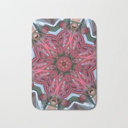 Hearts (from the colourful sugarcane-juice machine) Bath Mat
