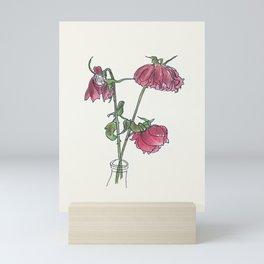 Wilted Rose Mini Art Print
