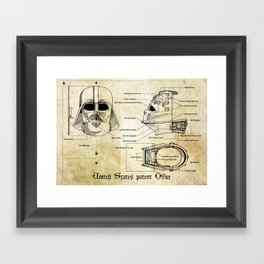 Dart Framed Art Print