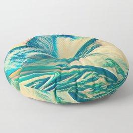 Sandy Waves Floor Pillow