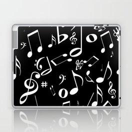 Music in the Air Black Laptop & iPad Skin