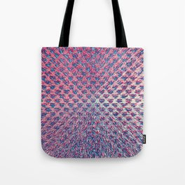 Red White & Blue Explosion Tote Bag
