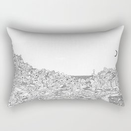 Houses in motion Rectangular Pillow