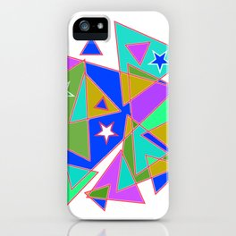 In triangle iPhone Case