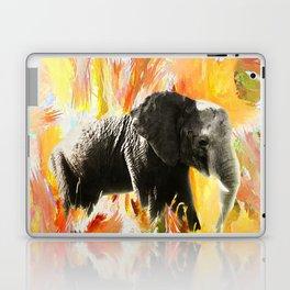 African Elephant - Happy Trails Laptop & iPad Skin