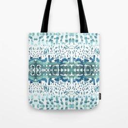 watrcolor wave Tote Bag