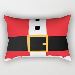 Santa's Belly Rectangular Pillow
