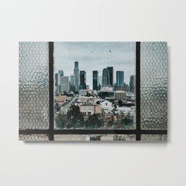 Framing Los Angeles Metal Print