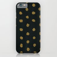 GOLD DOTS iPhone 6s Slim Case