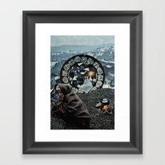 Kronos Framed Art Print