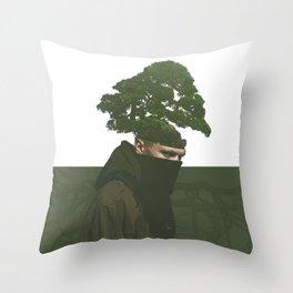 enraizado Throw Pillow