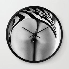 Contrast II Wall Clock