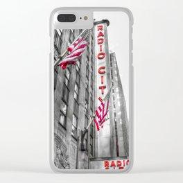 Radio City Music Hall New York Clear iPhone Case