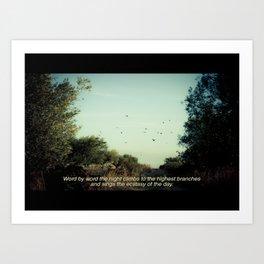 Imaginary Film Stills - Heartland Art Print