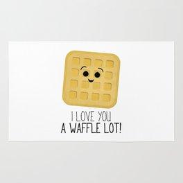 I Love You A Waffle Lot! Rug