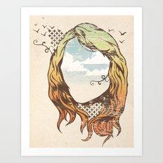 imaginario Art Print
