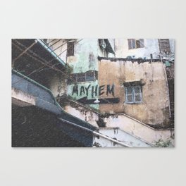 Mayhem - Ho Chi Minh City Canvas Print