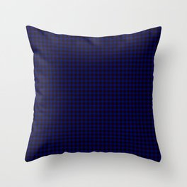 Home Tartan Throw Pillow