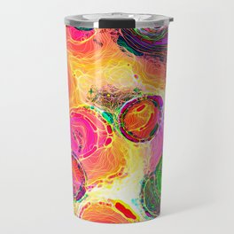 Color Dabs Travel Mug