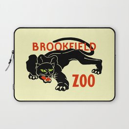 Black panther Brookfield Zoo ad Laptop Sleeve
