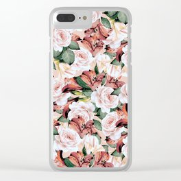 flowers / 67 Clear iPhone Case