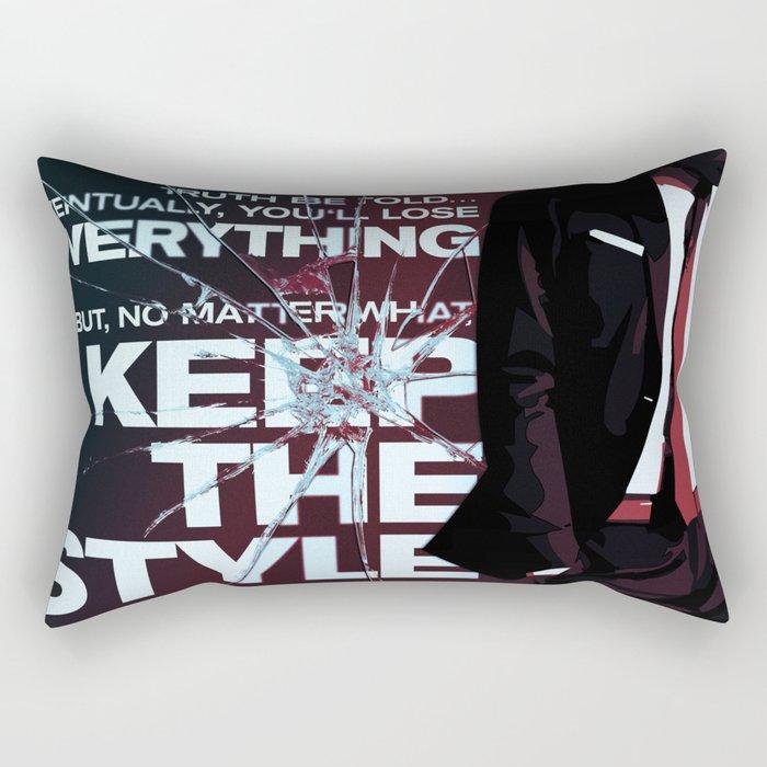 Keep the style Rectangular Pillow