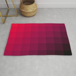 All About Pink, Pink Pattern Rug