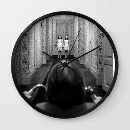 The Shining- Hallway Wall Clock