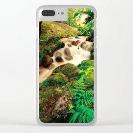 Parque Terra Nostra, Azores Clear iPhone Case