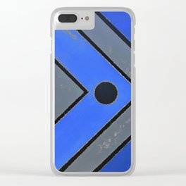 Fish - Blue Clear iPhone Case