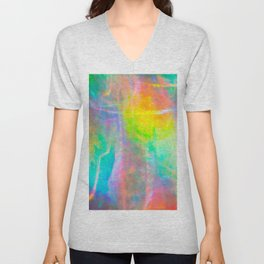 Prisms Play Of Light 1 Unisex V-Neck