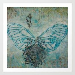 Wings, Nest, and Chrysalis Art Print