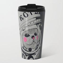Spaceman cat Travel Mug