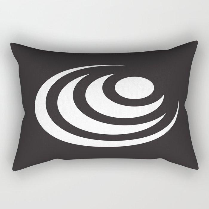 Circle In Circle In Circle Rectangular Pillow
